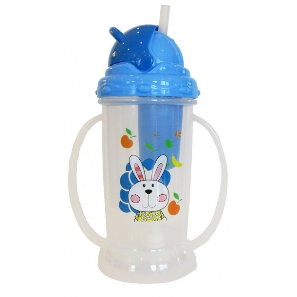 12oz REGULAR Childs Filter Bottle - Blue
